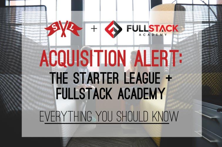 Starter league fullstack academy acquisition qa