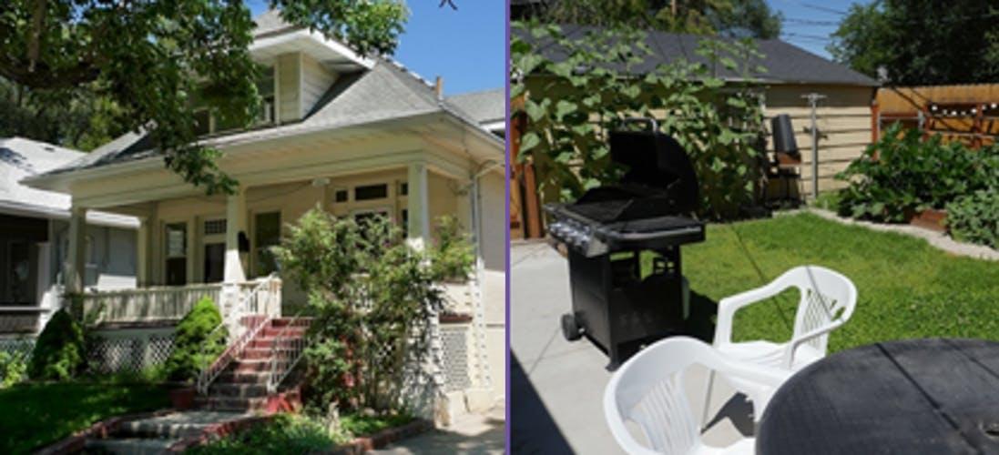Devpoint housing house backyard