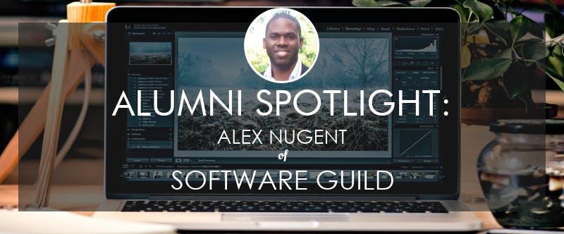 Alex nugent alumni spotlight software guild