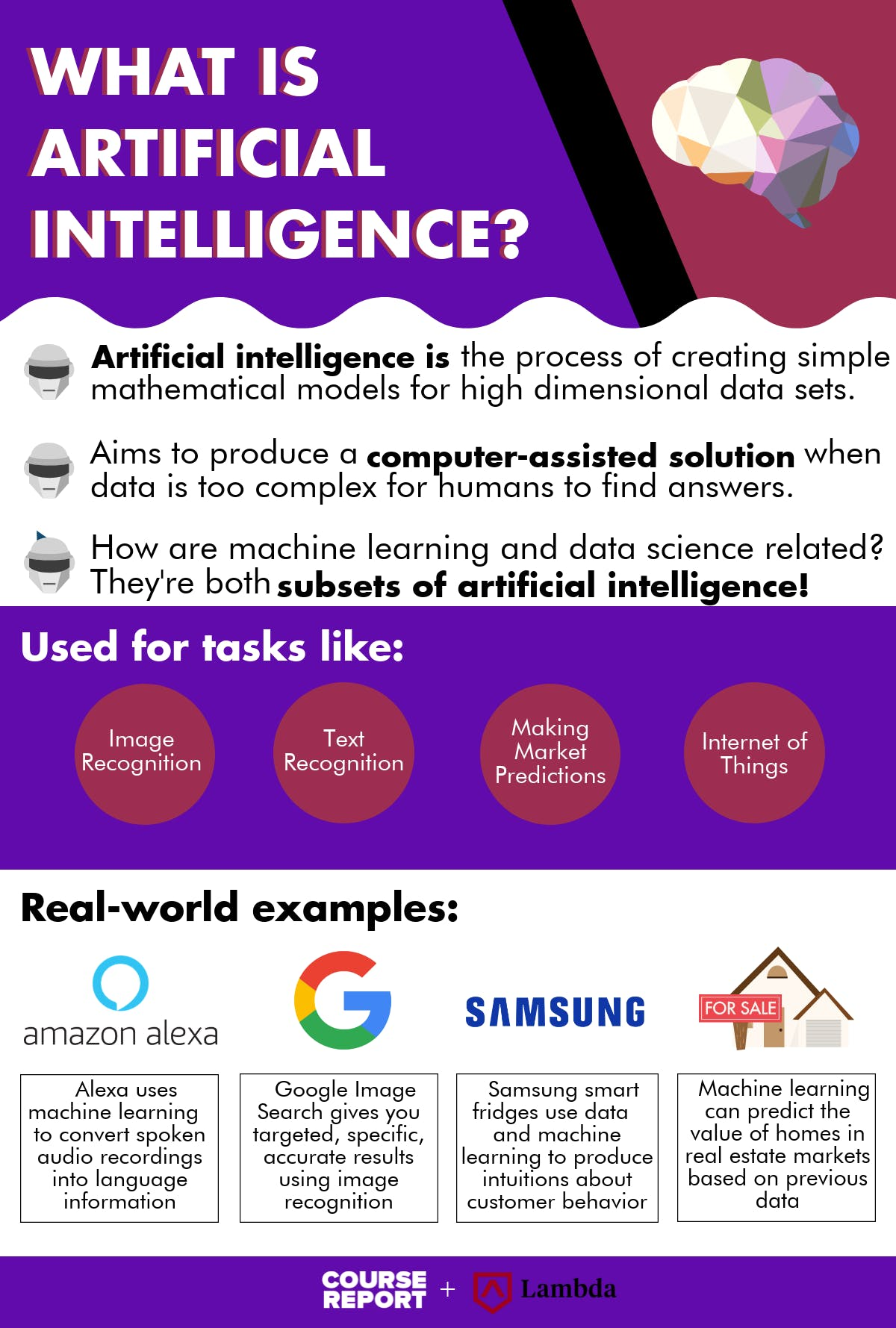 What is artificial intelligence inforgraphic