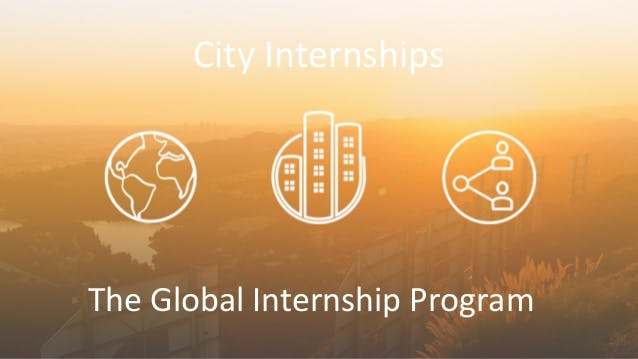 City internships powerpoint 1 638