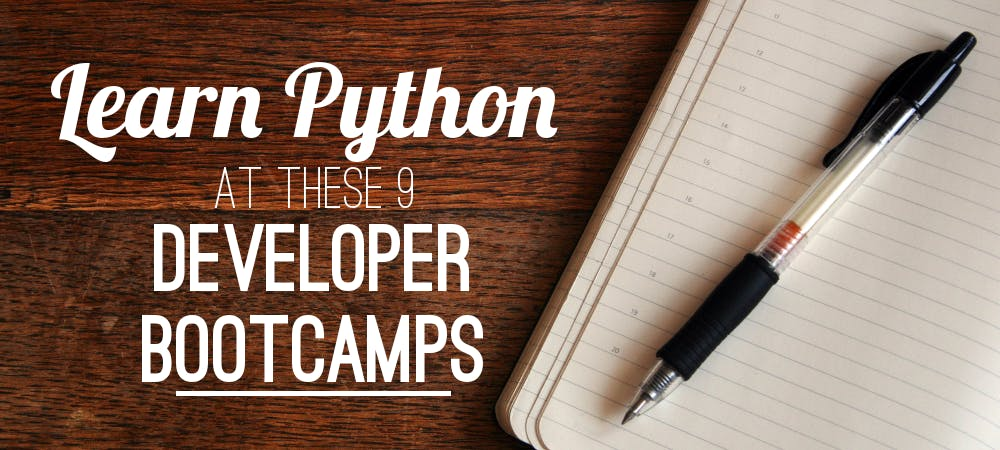 Learn python bootcamps