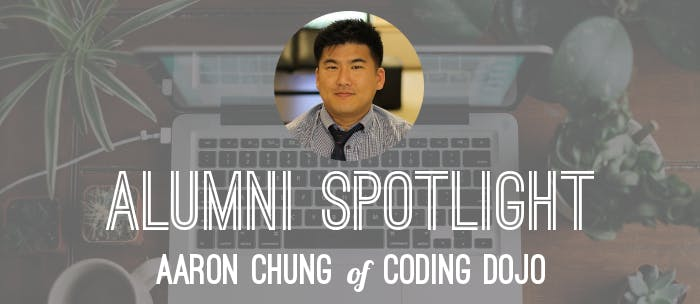 Student spotlight aaron coding dojo