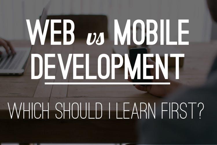 Web vs mobile coding bootcamp