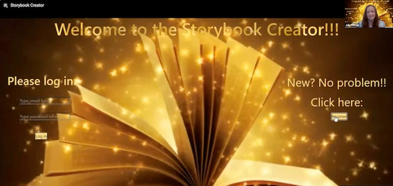 Storybook creator   julie pitman