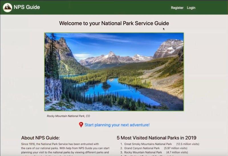 National parks guide   marissa