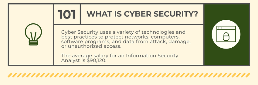 Cyber security career track